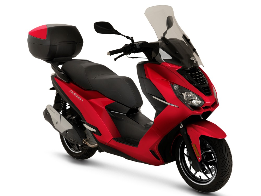 Pulsion 125i Allure - Red Ultimate