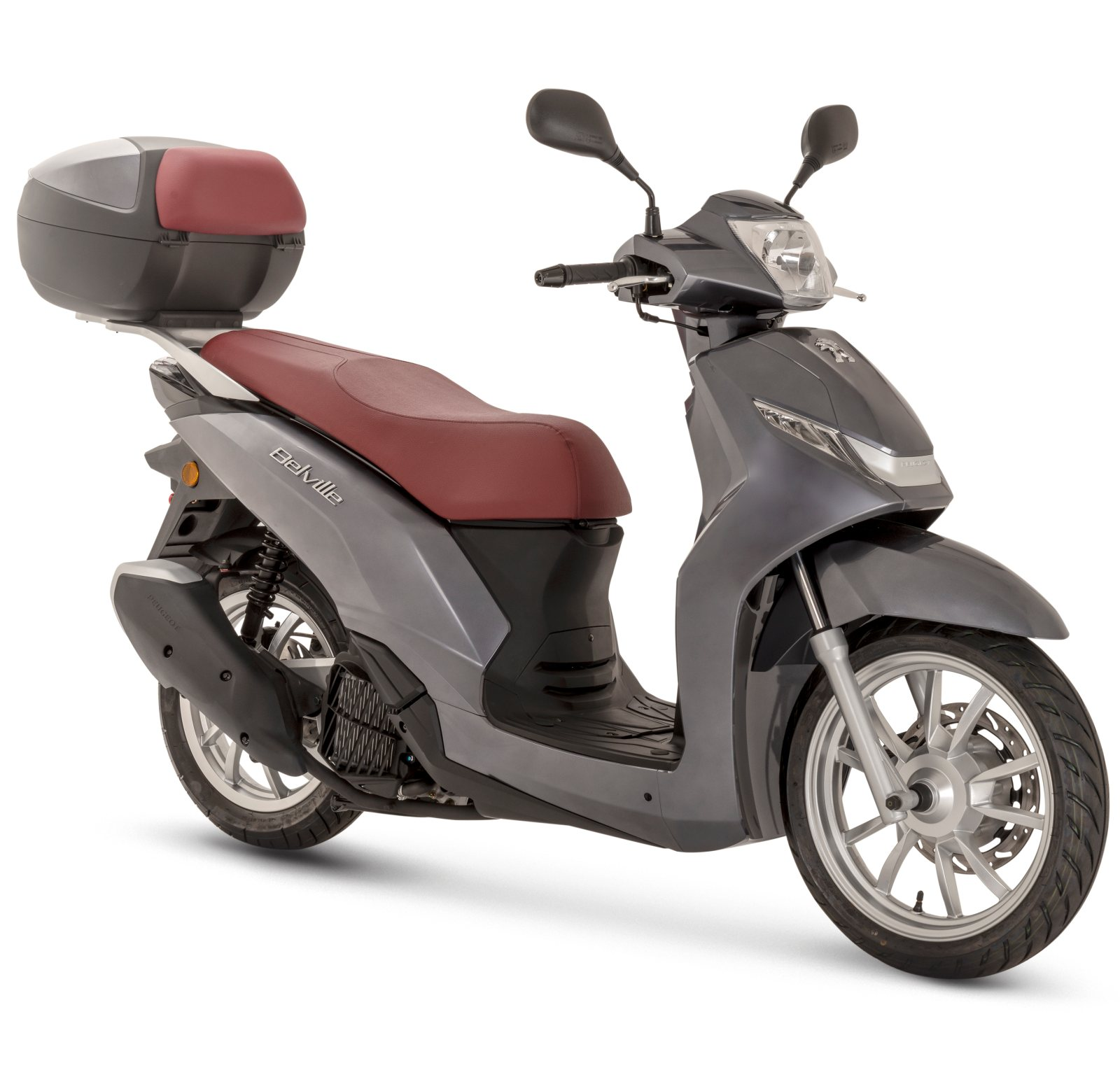 Belville 125i Allure ABS - Onyx Grey
