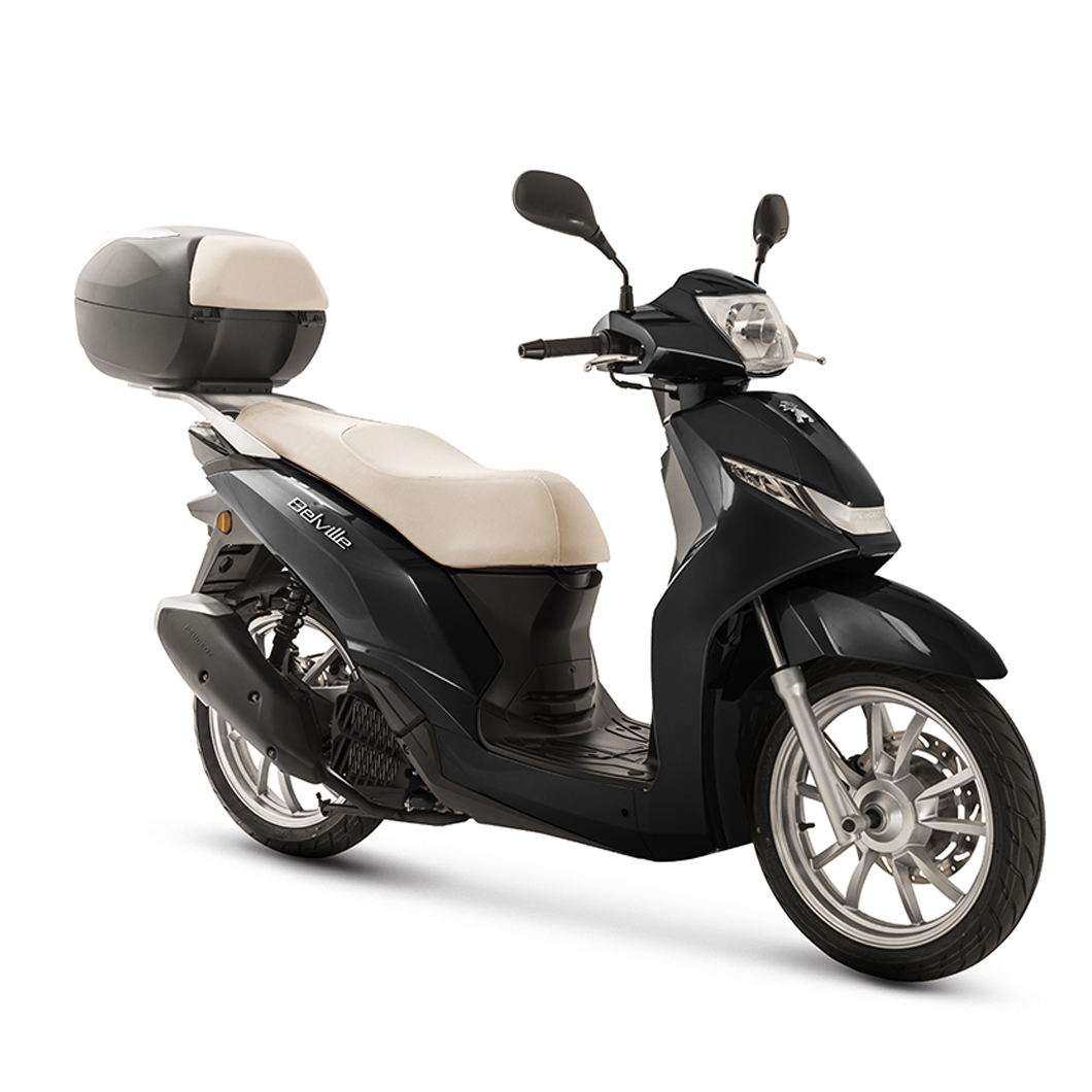 Belville 125i Allure ABS - Jet Black 2018